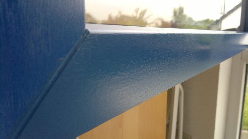 Gut bekannt trend-neu - Fensterrahmen mit Folie bekleben OW53