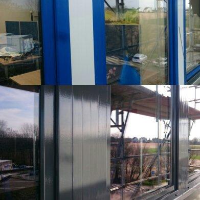 Hervorragend trend-neu - Fensterrahmen mit Folie bekleben UD52